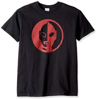 T-Line Men's Ultraman Circle Graphic T-Shirt