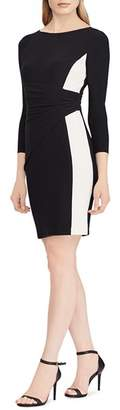 Ralph Lauren Color-Block Jersey Dress