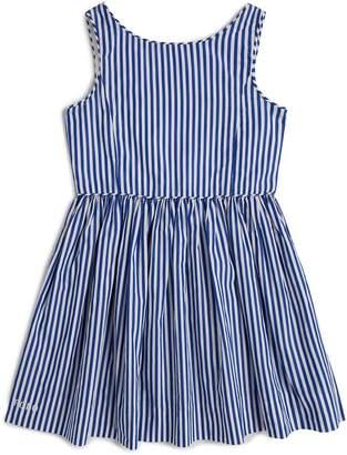 Polo Ralph Lauren Cotton Bengal-Stripe Dress