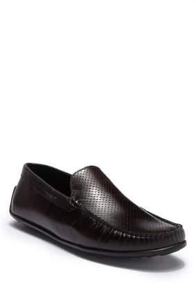 Donald J Pliner Leather Moc Toe Loafer
