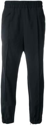 Kris Van Assche elasticated waist track pants