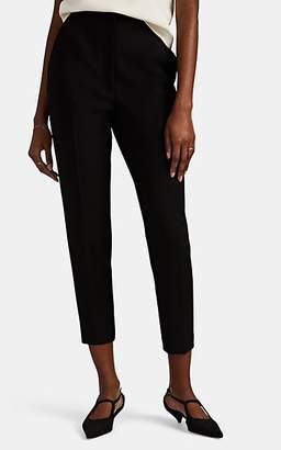 The Row Women's Talia Wool-Blend Slim Trousers - Black