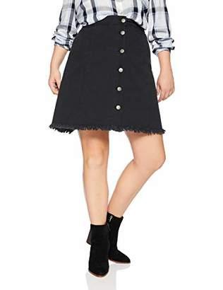 Junarose Women's Plus Size Amandas Above Knee Skirt