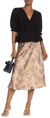 Mustard Seed Snake Print Skirt