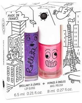 Nailmatic Lovely City - Nail Polish Lip Gloss Set