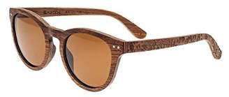 Earth Wood Copacabana Wood Sunglasses Polarized Cateye