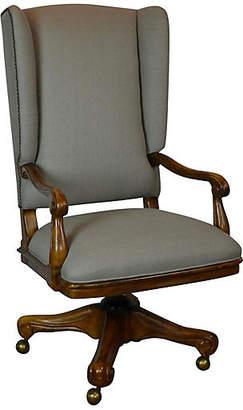 One Kings Lane Vintage Desk Chair by Drexel