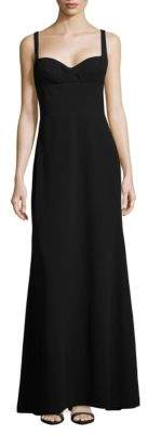 Vera Wang Crepe A-Line Gown $278 thestylecure.com