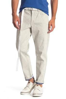 Perry Ellis Chalk Straight Leg Jeans