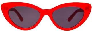 Illesteva Pamela Red Sunglasses