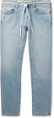 Off-White Off White Skinny-Fit Denim Jeans - Men - Blue