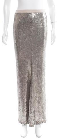 Chan LuuChan Luu Sequin Maxi Skirt