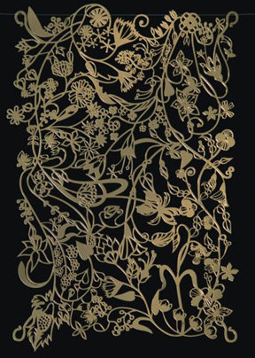 Artecnica Ivy Wall Panel Brass