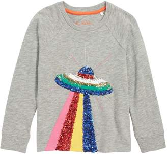 Boden Sequin Applique Tee