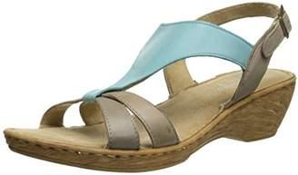 Bella Vita Made in Italy Women's Gubbio Wedge Sandal