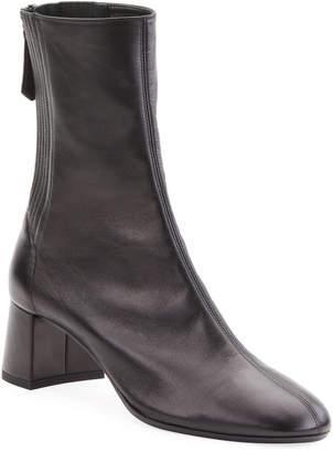 Aquazzura Saint Honore 50mm Leather Booties
