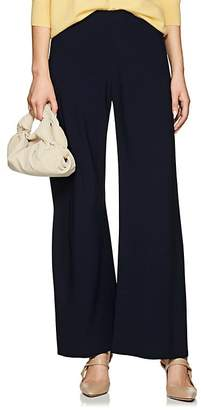 The Row Women's Gala Stretch-Cady Wide-Leg Pants