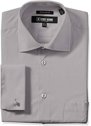 Stacy Adams Men's Adjustable Collar Dress Shirt