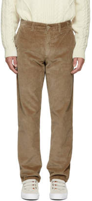 Norse Projects Khaki Corduroy Aros Trousers