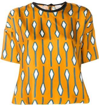 Alysi (アリジ) - Alysi パターン Tシャツ
