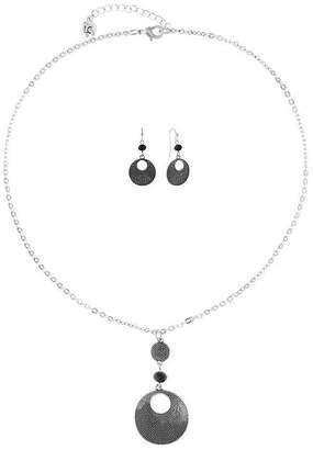 Liz Claiborne Womens Silver Tone 3-pc. Jewelry Set