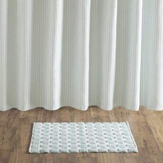 Home Essence Halo Cotton Woven Bath Rug with Skid Resistant Backing