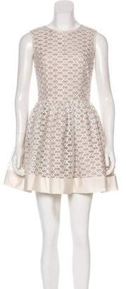 RED Valentino Mesh Cocktail Dress
