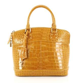 Louis Vuitton Yellow Leather Handbag
