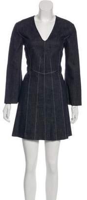 Derek Lam Denim A-Line Dress
