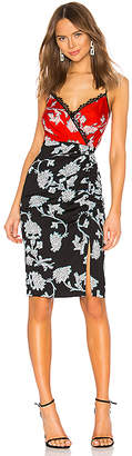 Diane von Furstenberg Ebony Midi Dress