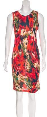 Haute Hippie Printed Sleeveless Dress