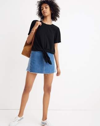 Madewell Button-Back Tie Tee
