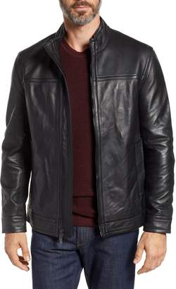 Robert Graham Napoleon Classic Leather Coat