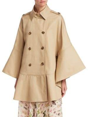 Cotton Cape Coat