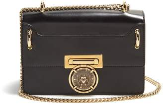 Balmain Coin-embellished leather bag