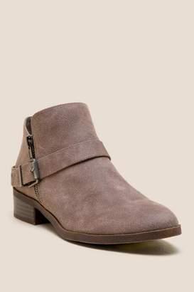 Fergalicious Nadria Distressed Ankle Boot - Taupe