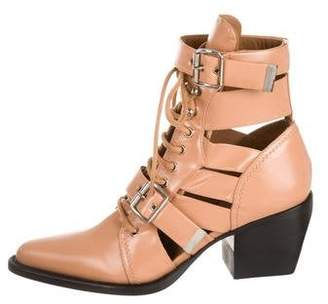 Chloé 2018 Rylee Ankle Boots