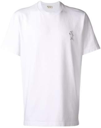 Marni embroidered logo T-shirt