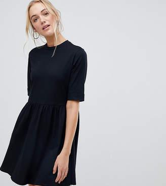 Asos Tall DESIGN Tall mini ultimate cotton smock dress