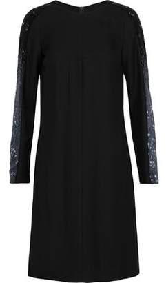 Amanda Wakeley Bead-Embellished Twill Dress