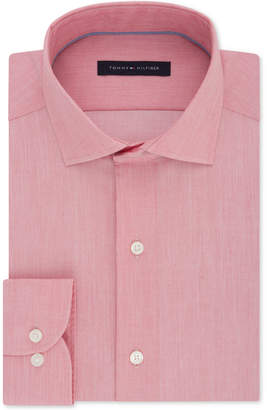 Tommy Hilfiger Men Big & Tall Classic/Regular Fit Non-Iron Stretch Dress Shirt