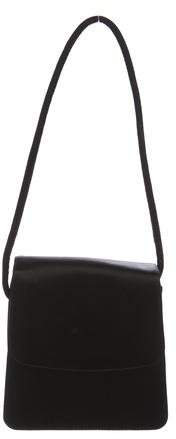Giorgio Armani Mini Satin Shoulder Bag