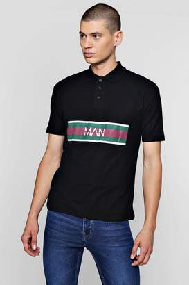 boohoo Original MAN Printed Polo