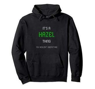 Hazel - Personalized Name Unisex Pullover Hoodie