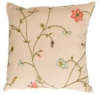 Ralph Lauren Embroidered Throw Pillow