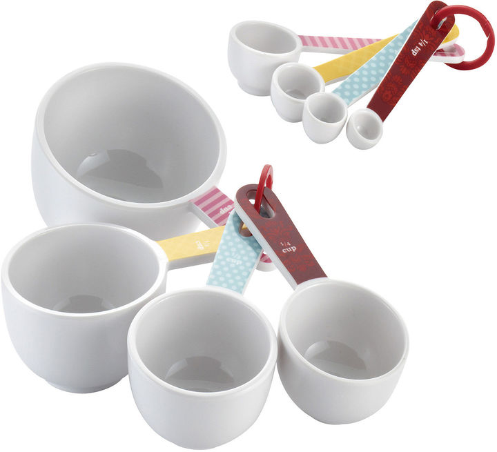 CAKE BOSS Cake BossTM 8-pc. Melamine Measuring Cups and Spoons Set