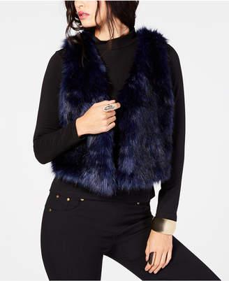Thalia Sodi Faux-Fur Vest