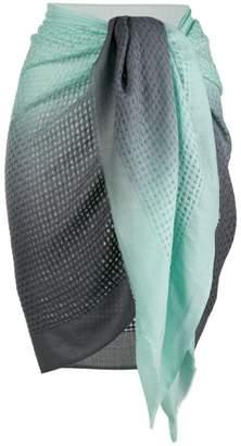 Tara Matthews Marinella woven pareo scarf