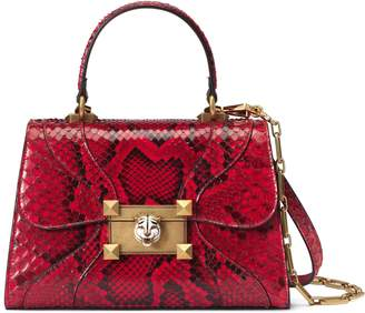 Gucci Osiride small snakeskin top handle bag