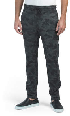Double Knit Zip Bottom Joggers